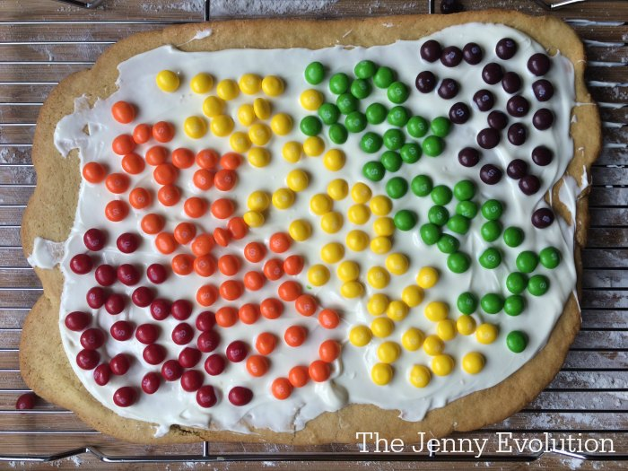 Baking Skittles Rainbow Sugar Cookies Bark Recipe