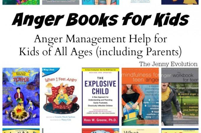 AngerBooksforKids