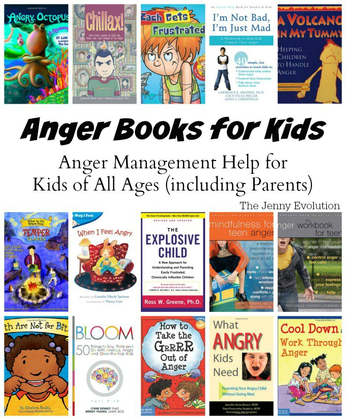 Anger Books for Kids: Anger Management Help for Kids of All Ages (including Parents) | Mommy Evolution