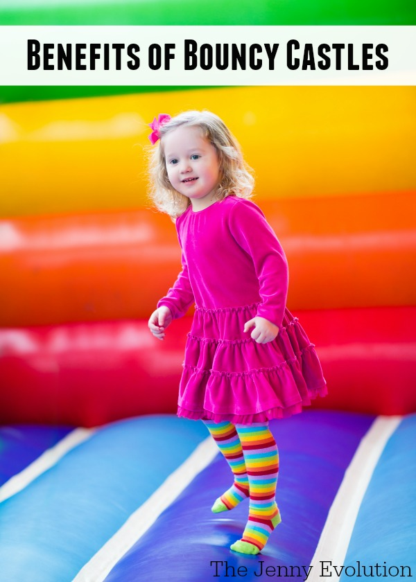 The Benefits of Bouncy Castles. It's not just all play! | The Jenny Evolution