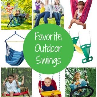 Favorite Outdoor Swings on Amazon | The Jenny Evolution