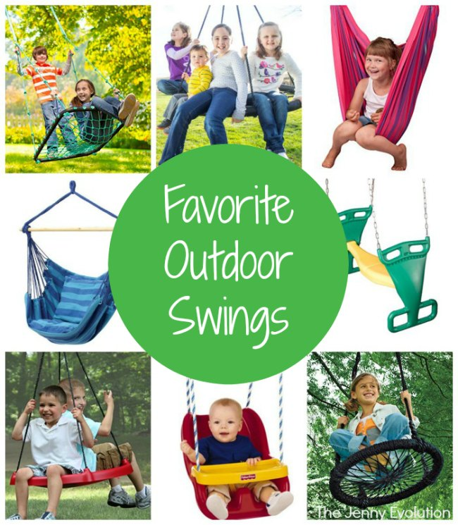 Favorite Outdoor Swings on Amazon | Mlommy Evolution