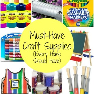 Must Have Craft Supplies Every Home Should Have - As Recommended by a Crafting Mom | The Jenny Evolution