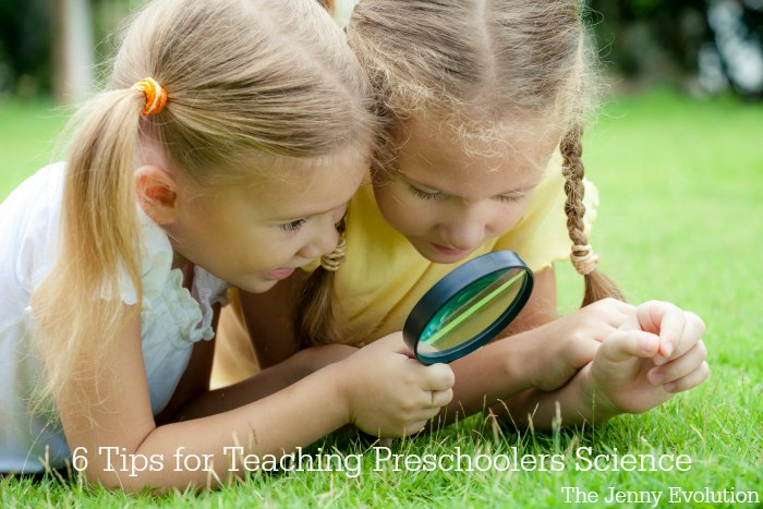 6 Tips for Teaching Preschool Science to Your Toddler | The Jenny Evolution