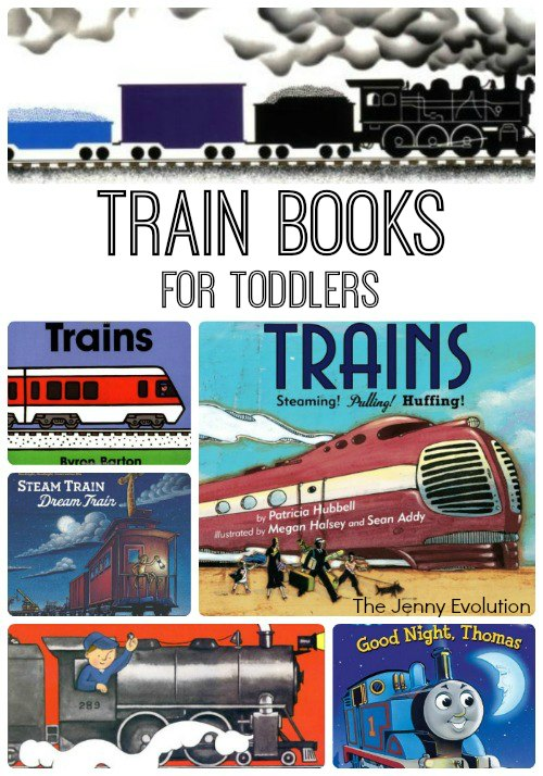 Favorite Train Books for Toddlers | Mommy Evolution