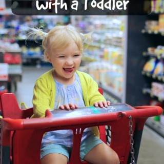 How to Run Errands with a Toddler and Stay Sane