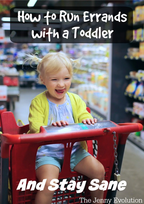 How to Run Errands with a Toddler and Stay Sane | Mommy Evolution