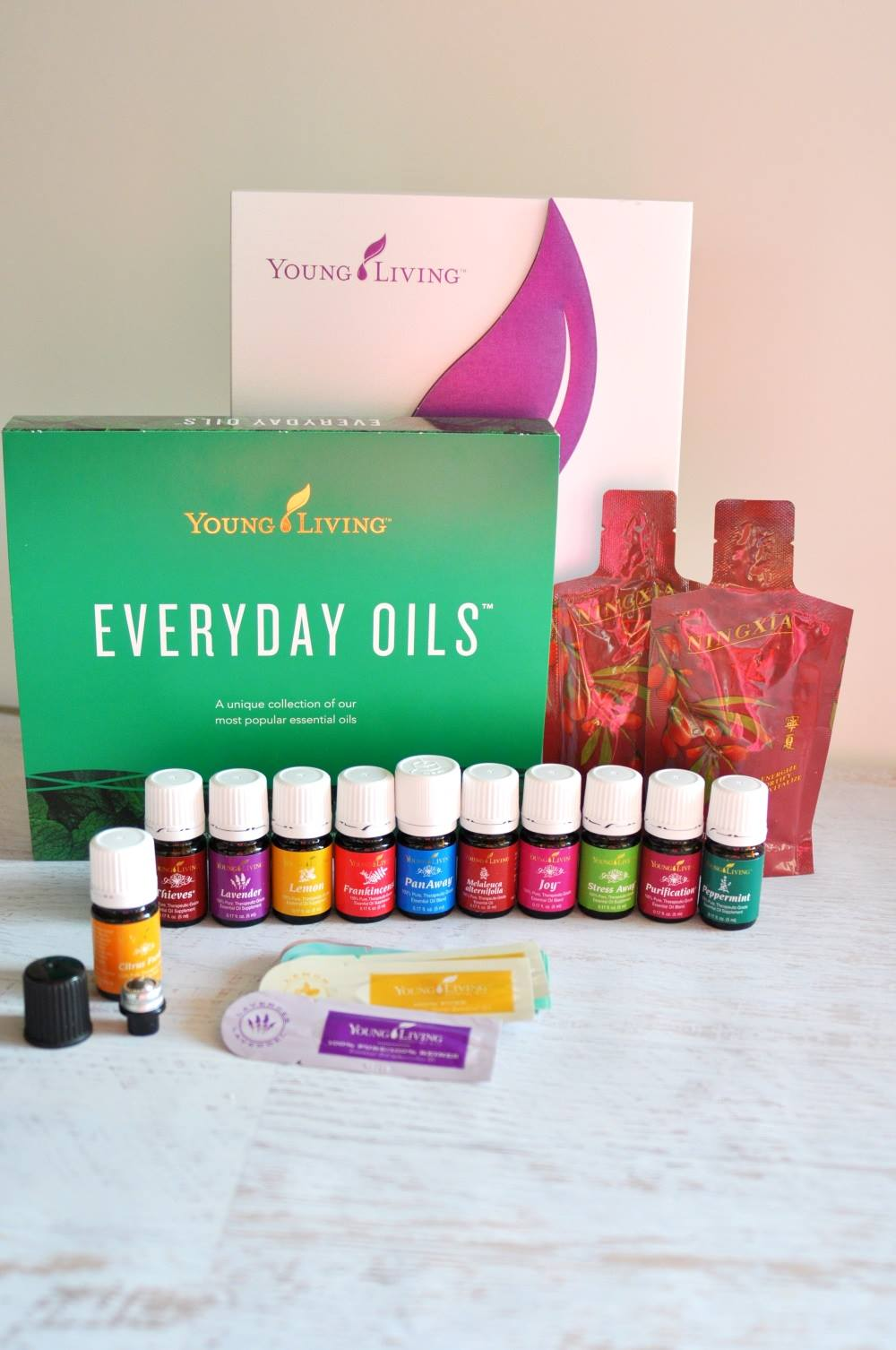 Living Young Essential Oils Starter Kit