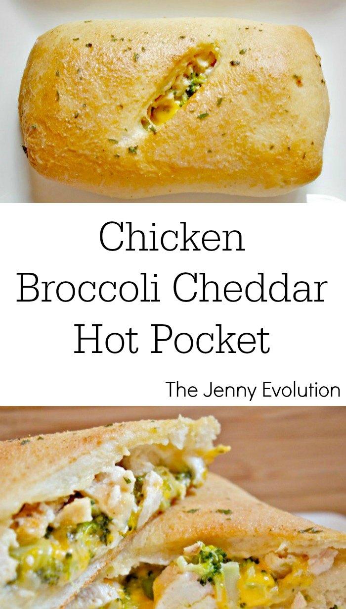 Chicken Cheddar Broccoli Hot Pocket