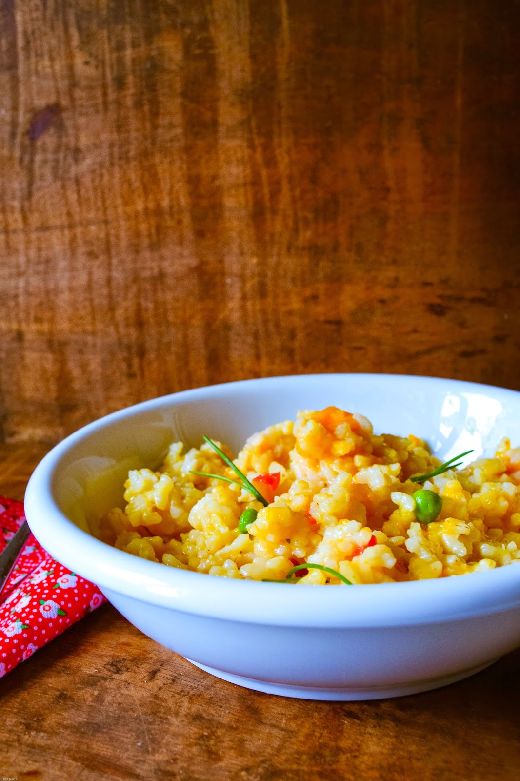 Creamy, Golden Butternut Squash Risotto Recipe from Lemon & Lime Thyme
