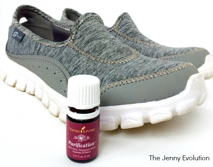 What Essential Oil Gets Rid of Shoe Odor?