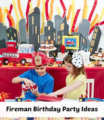 Fireman Birthday Party Ideas | The Jenny Evolution