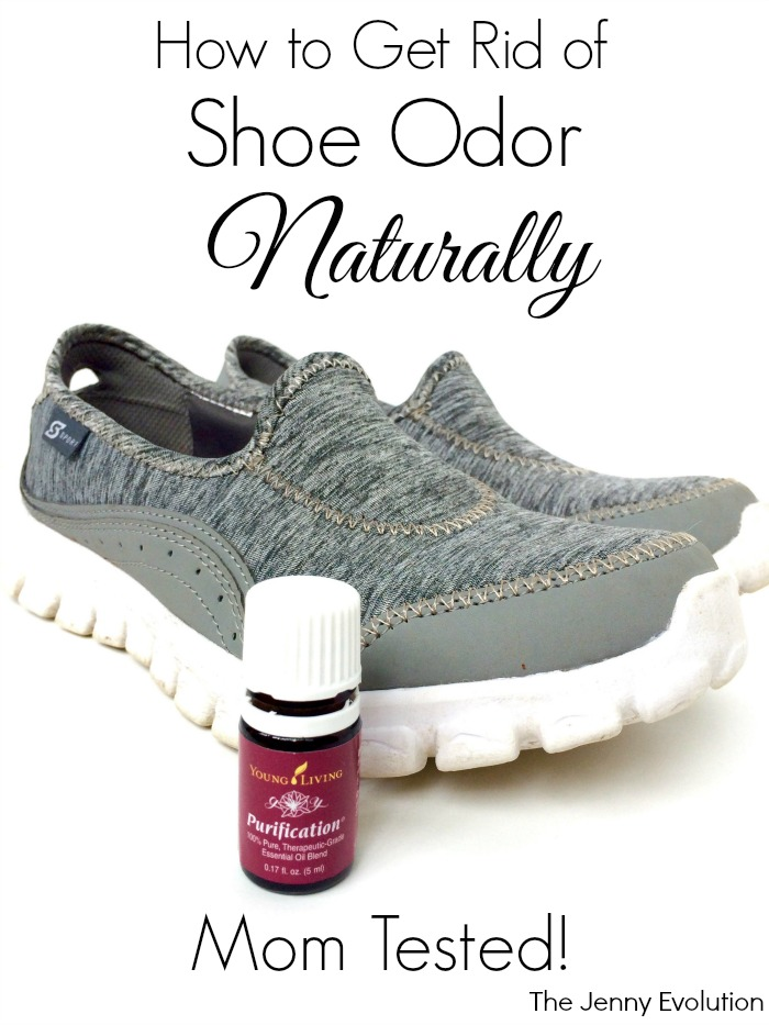 How to Get Rid of Shoe Odor Naturally -- No chemicals!
