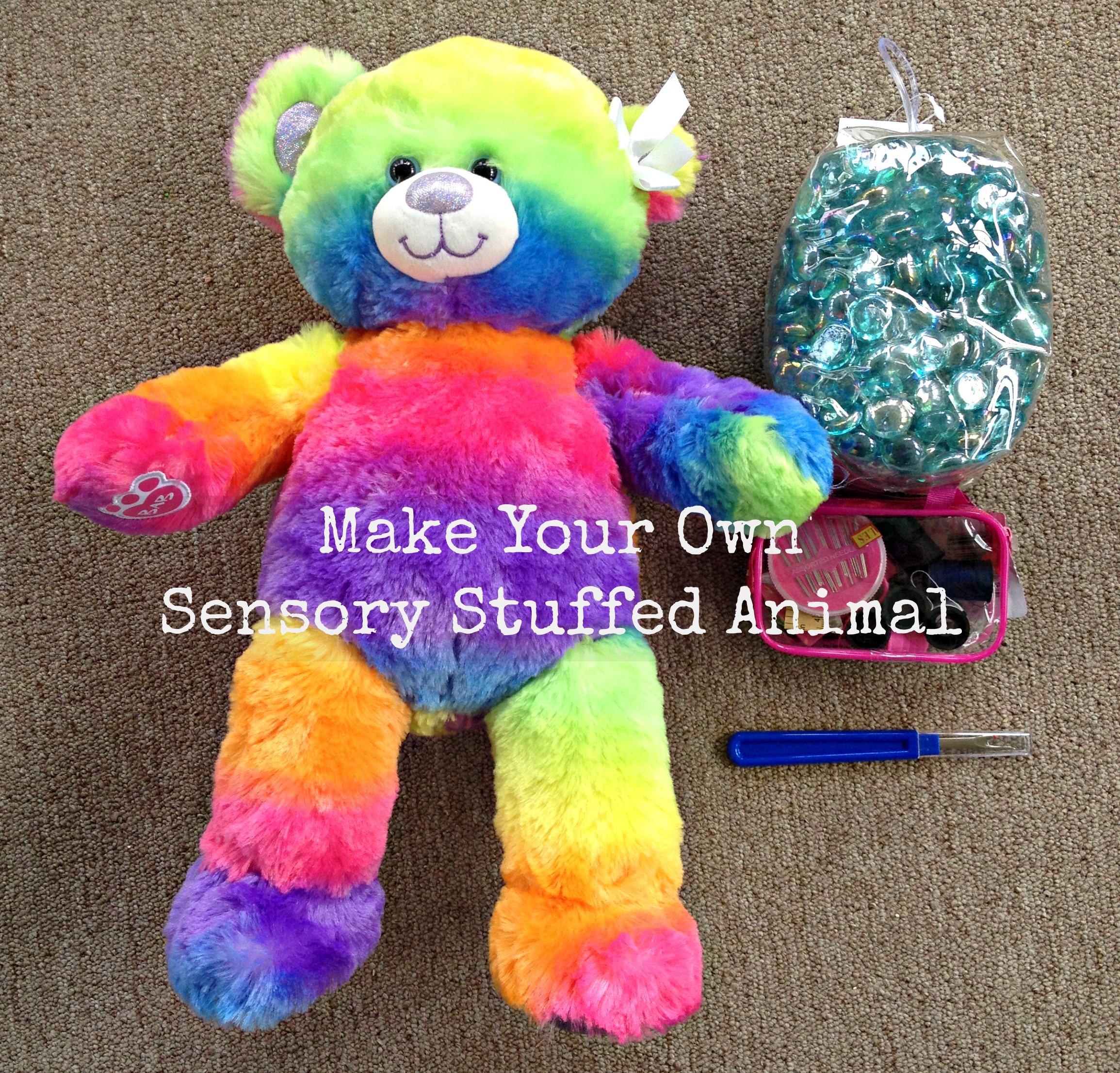 10 Ways to Use Weighted Sensory Stuffed Animals