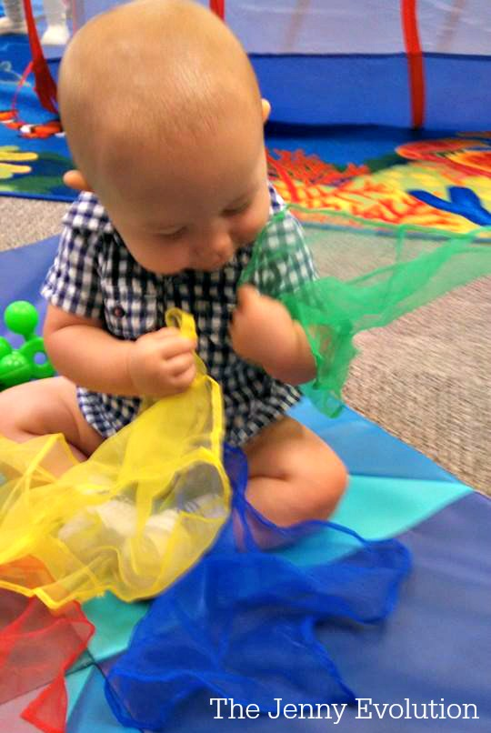5 Easy Sensory Baby Activities | The Jenny Evolution