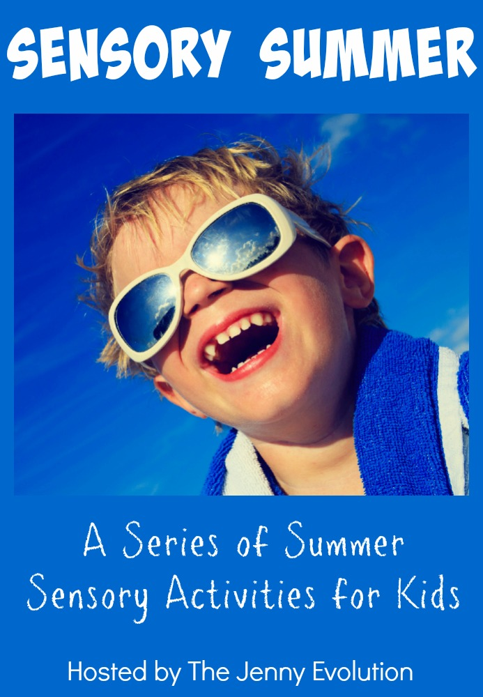Sensory Summer: A Series of Summer Sensory Activities for Kids, Toddlers and Babies | Mommy Evolution