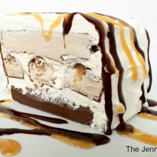 Snickers® Cake! Snickers Ice Cream Bars Cake Recipe
