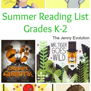 Summer Reading List for Kids in Kindergarten, 1st Grade and 2nd Grade | The Jenny Evolution