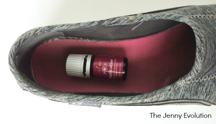 How to Use Essential Oils To Get Rid of Shoe Odor - Young Living Purification Essential Oil