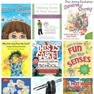 Children's Books About Sensory Processing Disorder | The Jenny Evolution