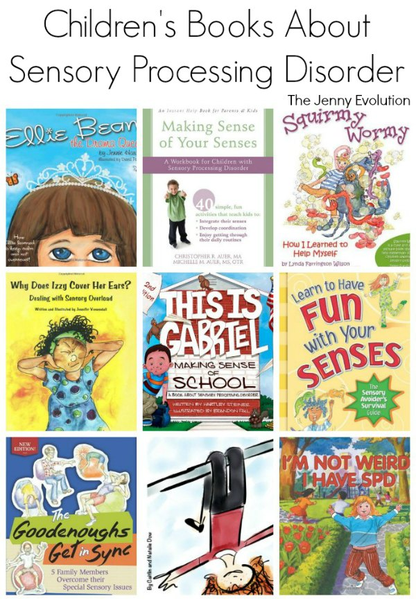Children's Books On Sensory Processing Disorder - For kids with SPD and Autism