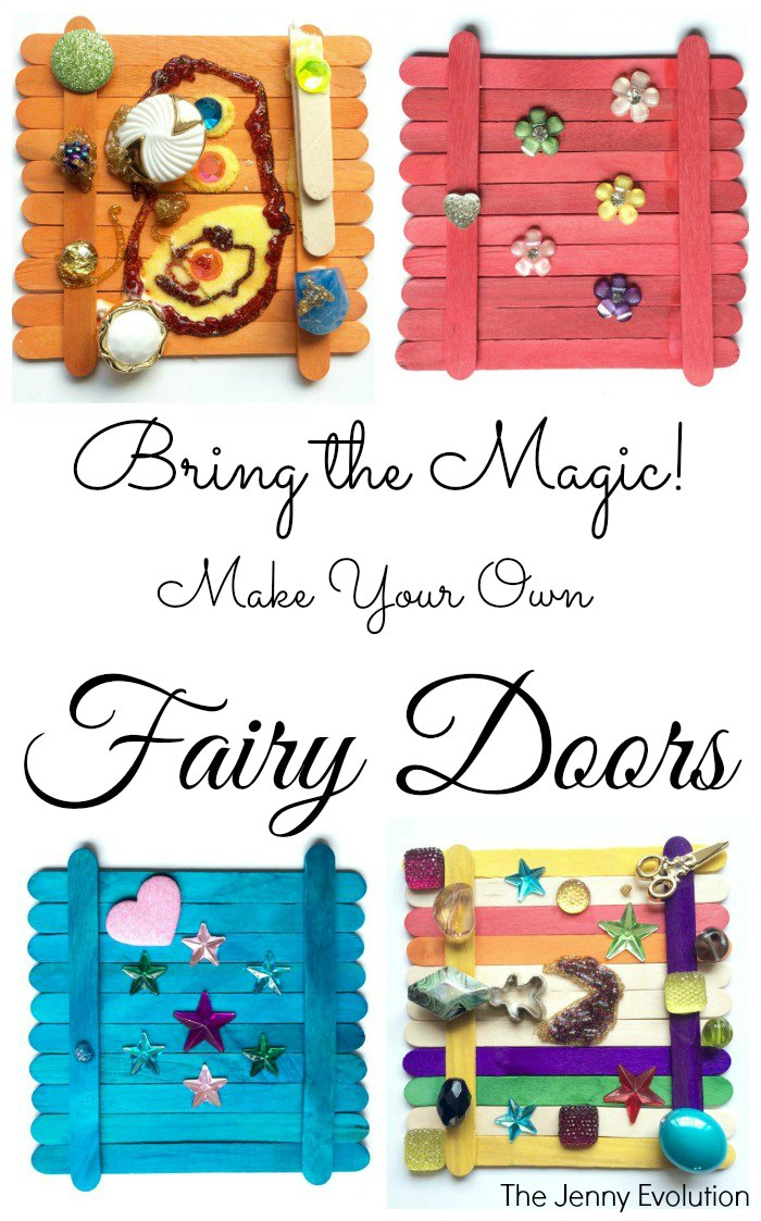 Bring the Magic with Make Your Own Fairy Doors