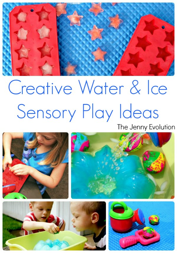Creative Ice and Water Sensory Play Ideas | The Jenny Evolution