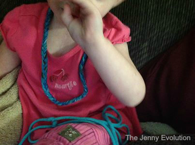 Homemade Chewy Necklaces -- My kid loves chewies!!!