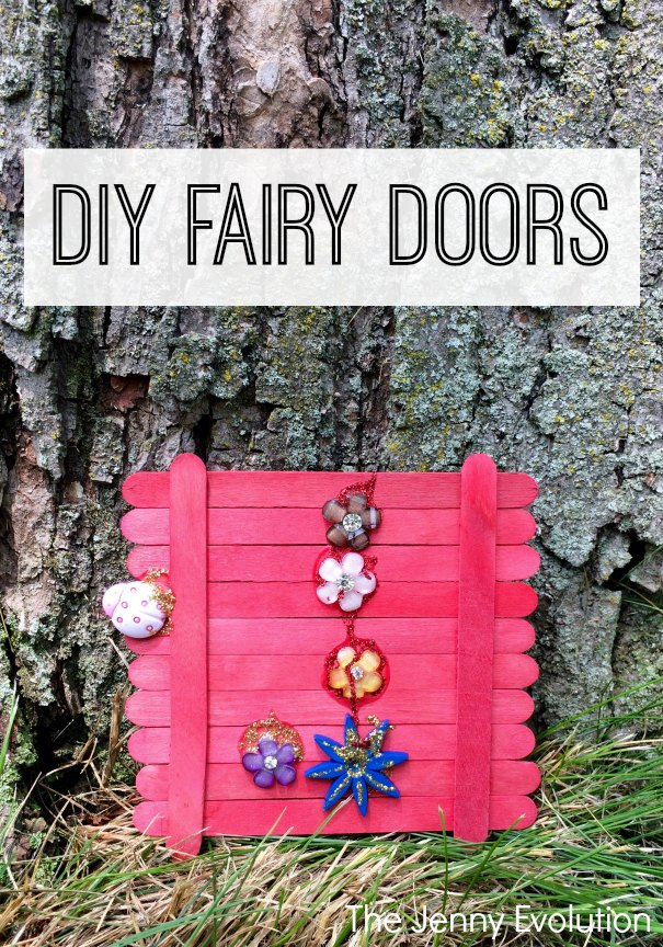 DIY Fairy Door - Perfect for a fairy garden or yard!