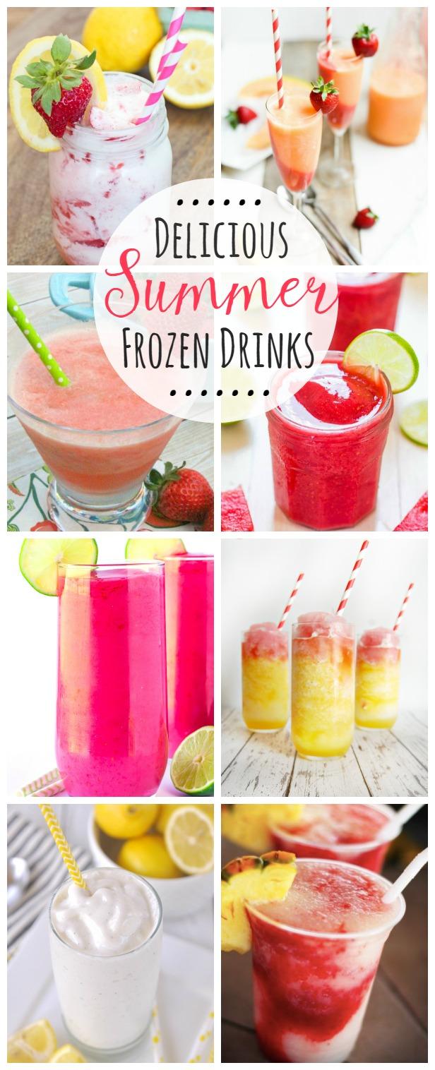 Delicious Summer Frozen Drinks