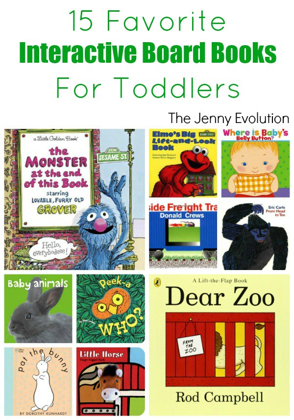 Favorite Interactive Toddlers Board Books | Mommy Evolution