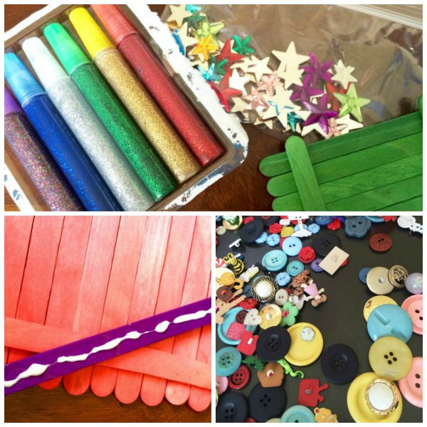 Materials to Make DIY Fairy Door