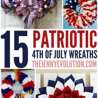 DIY 4th of July Patriotic Wreaths