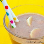 Chocolate Peanut Butter Banana Smoothie Recipe - Awesome for breakfast or a power snack!