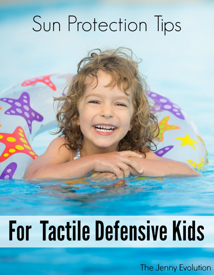 Sun Protection Tips for Tactile Defensive Children | Mommy Evolution