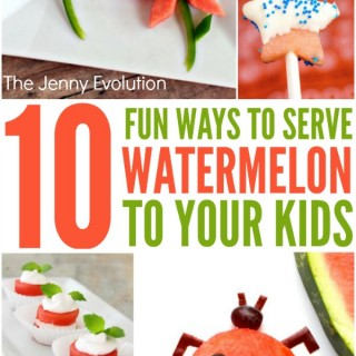 10 Fun Ways to Serve Watermelon to Your Kids