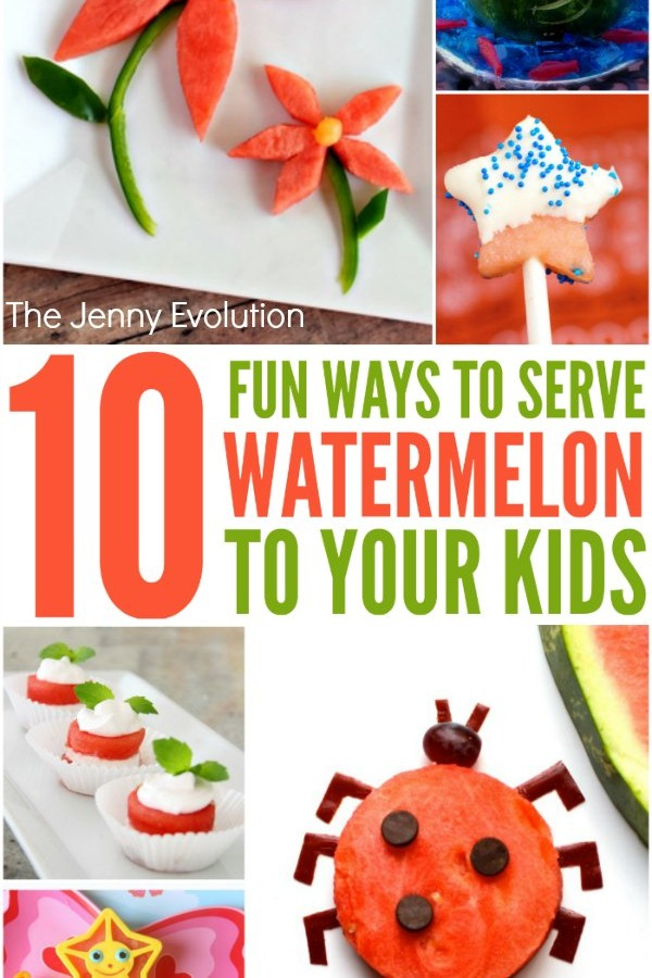 10 Fun Ways to Serve Watermelon to Your Kids