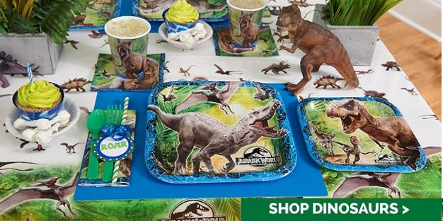 Jurassic World Party Decorations