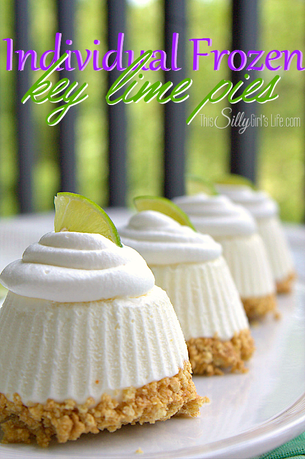 Individual Frozen Key Lime Pies Recipe