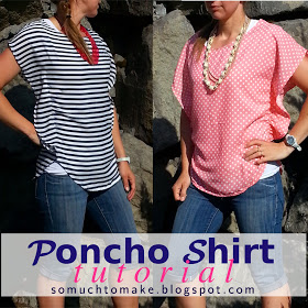 Poncho Shirt Tutorial