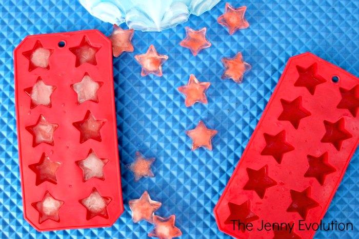 Star ice Sensory Play