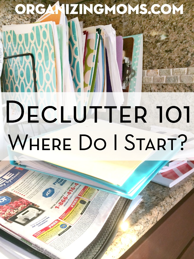 Declutter 101: Where to Start? Tutorial