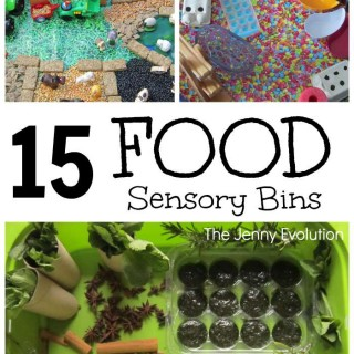 15 Fun Food Sensory Bins and Activities for Kids | The Jenny Evolution