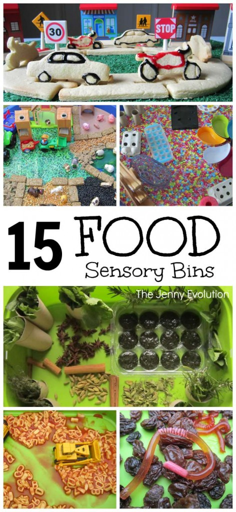 15 Fun Food Sensory Bins and Activities for Kids | Mommy Evolution