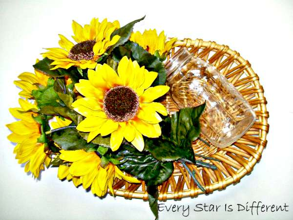 Arranging Flowers - Montessori Inspired Picnic Activities