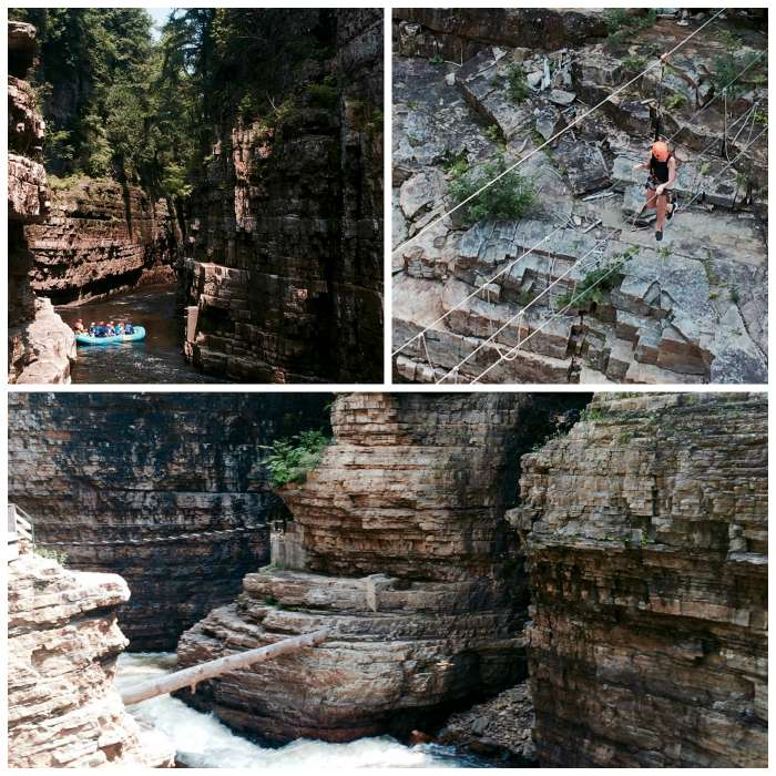 Ausable Chasm Views