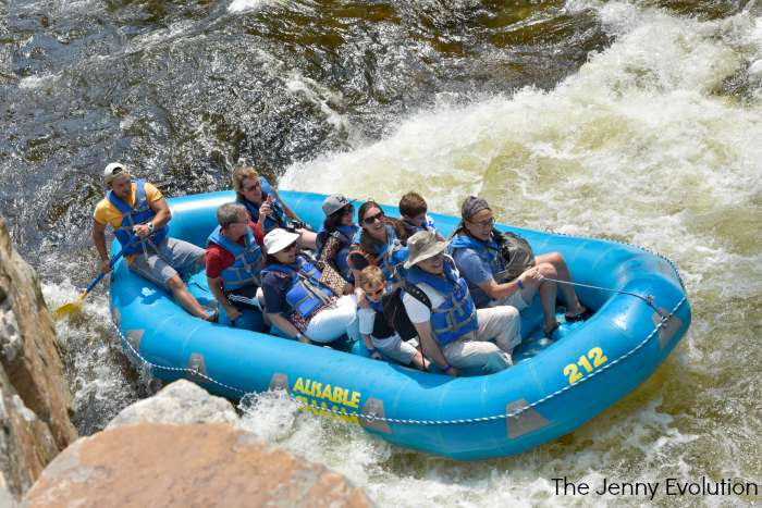 Ausable Chasm White Water Rafting