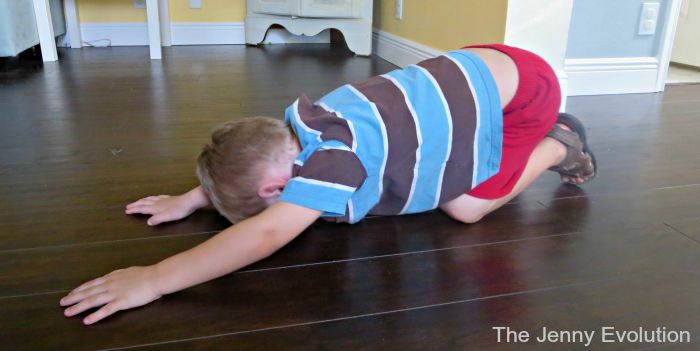 Yoga Child's Post for Kids