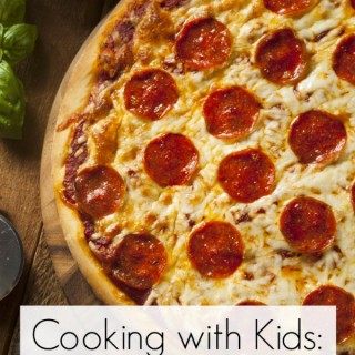 Cooking with Kids: DIY Pizza Night