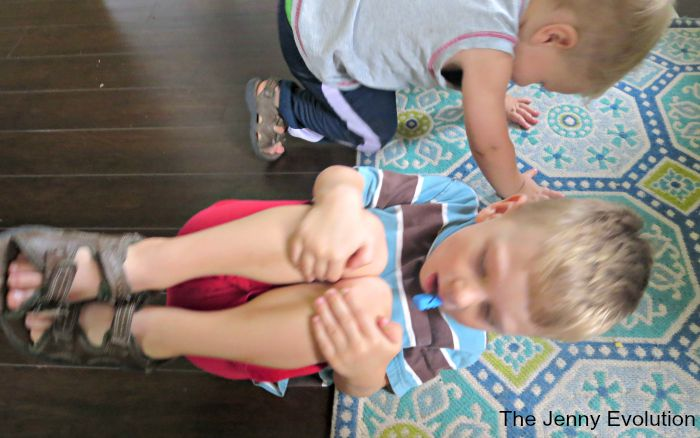 Yoga Dead Bug Pose for Kids